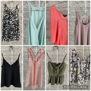 8 Boutique Tops, Tanks, and Blouses